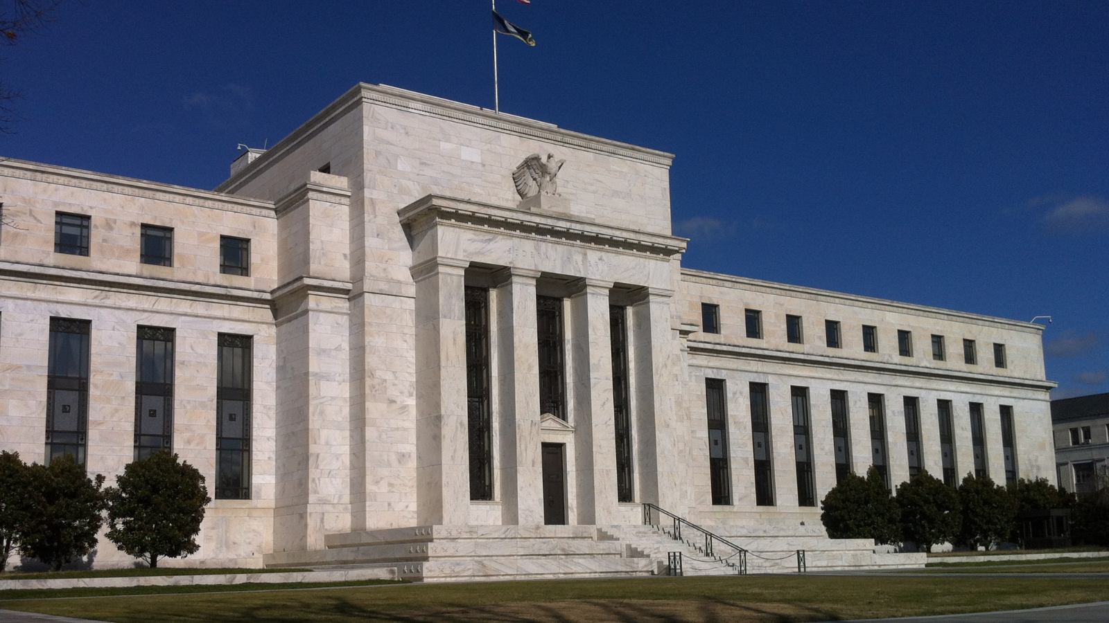 Photo of Federal Reserve Bldg., DC